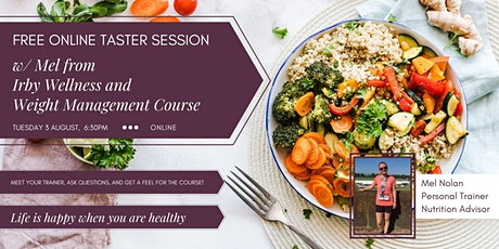 FREE Online Taster Session for Irby Wellness and Weight Management Course tickets
