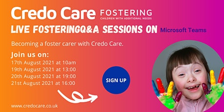Live Fostering Q&A Sessions tickets