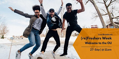 (re)Freshers: Welcome to the OU (11:00-12:00) tickets