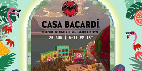 Get ready to virtually travel to the Caribbean with Casa BACARDÍ tickets