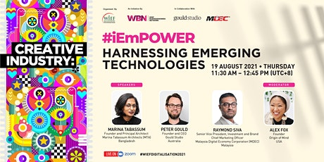 #iEmPOWER | Creative Industry: Harnessing Emerging Technologies tickets