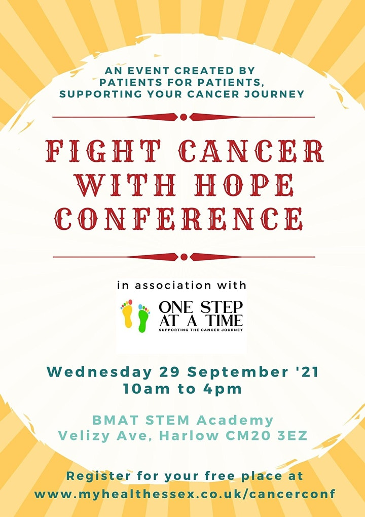 NHS Fight Cancer with Hope Conference image
