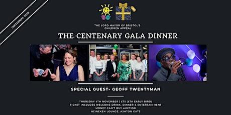 Lord Mayor of Bristol's Children Appeal Centennial Gala Dinner 2021 tickets