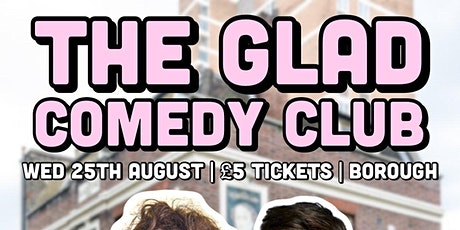The Glad Comedy Club tickets