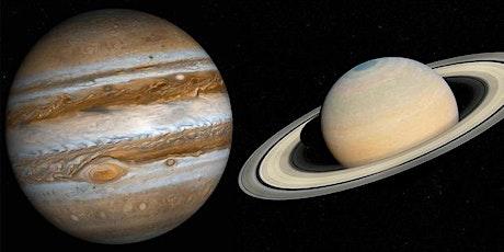 Osservazione dei pianeti Giove e Saturno biglietti