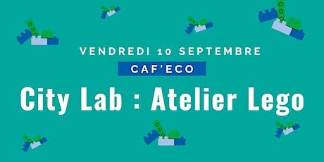 City Lab : Atelier Légo billets