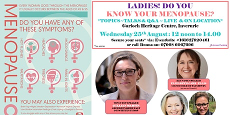 KNOW YOUR MENOPAUSE tickets
