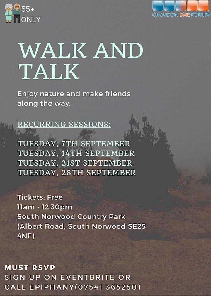 Walk and Talk image