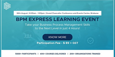 BPM EXPRESS LEARNING EVENT tickets