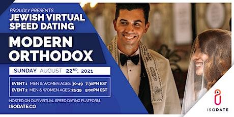 Modern Orthodox Jewish Virtual Speed Dating tickets