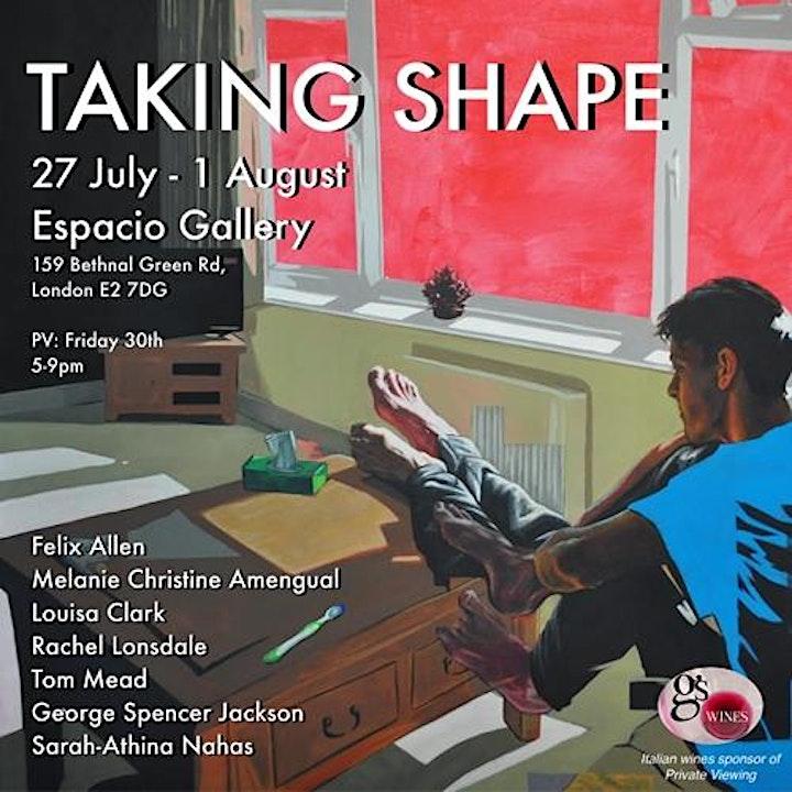 'Taking Shape' (Ends Sun 1 Aug) & Pop-up Italian Wine Bar image