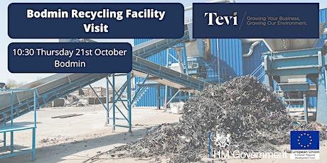 Bodmin Materials Recycling Field Trip tickets