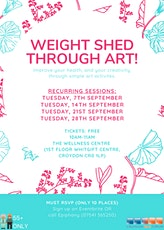 Weight Shed Through Art tickets