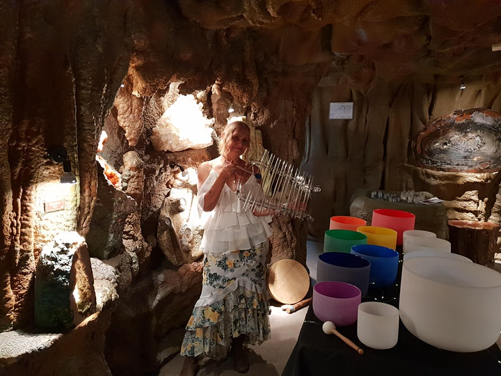 Crystal Singing Bowls in the Crystal Caves image