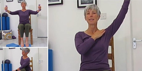 Introduction to Seated Pilates for people with MS tickets