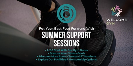Summer Support Session at Welcome Gym Southend tickets