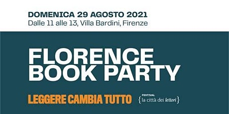 """Florence Book Party • """"I passi di mia madre"""" e """"La perfezione"""" biglietti"""