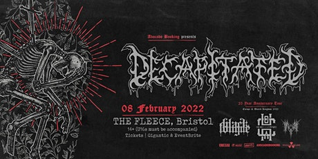 Decapitated + Black Tongue + Heart of A Coward + Inferi tickets
