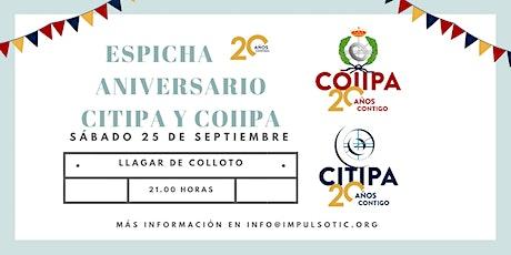 20 Aniversario CITIPA-COIIPA entradas