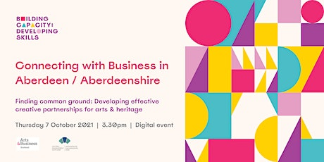 Connecting with business and public sector in Aberdeen & Aberdeenshire tickets
