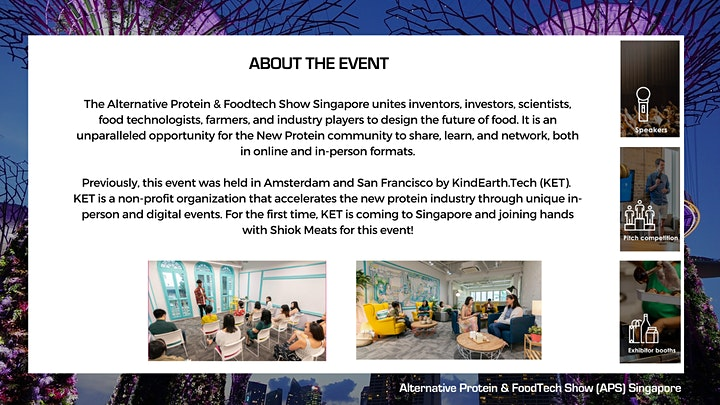 The Alternative Protein & FoodTech Show - Singapore image