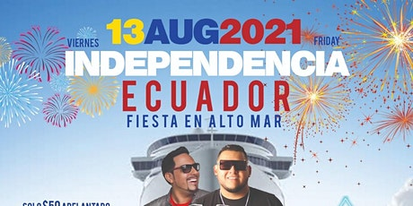 Ecuadorian Independence Summer Cruise At Destiny Yacht tickets