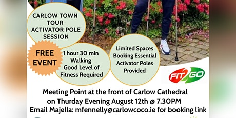 Tour Carlow Town with Activator Poles tickets