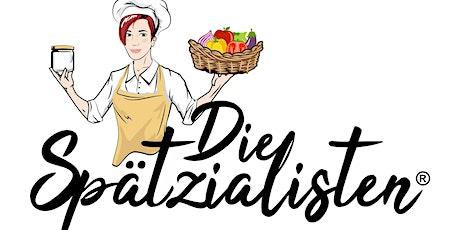Vegane Schlemmerbuffet Party - Die Spätzialisten Tickets