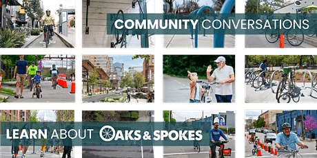 August Community Conversation with Oaks and Spokes - Pop Up Traffic Gardens tickets