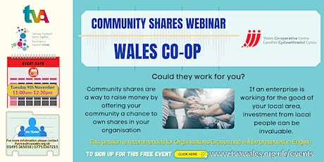 Community Shares Explained – Could they work for you? tickets