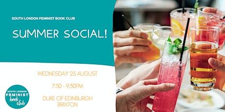 South London Feminist Book Club - Summer Social! tickets