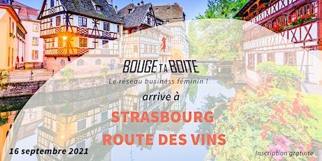 Lancement de Bouge ta Boite à Strasbourg Route des vins billets