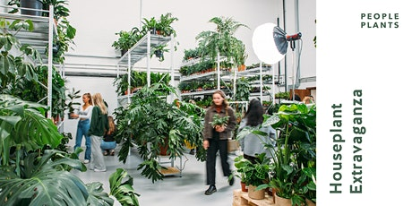 Houseplant Extravaganza // People Plants HQ, Scorrier 31 July + 1st August tickets