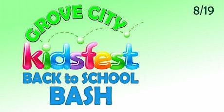 VENDOR REGISTRATION: Grove City to School Bash 8/19/2021 tickets