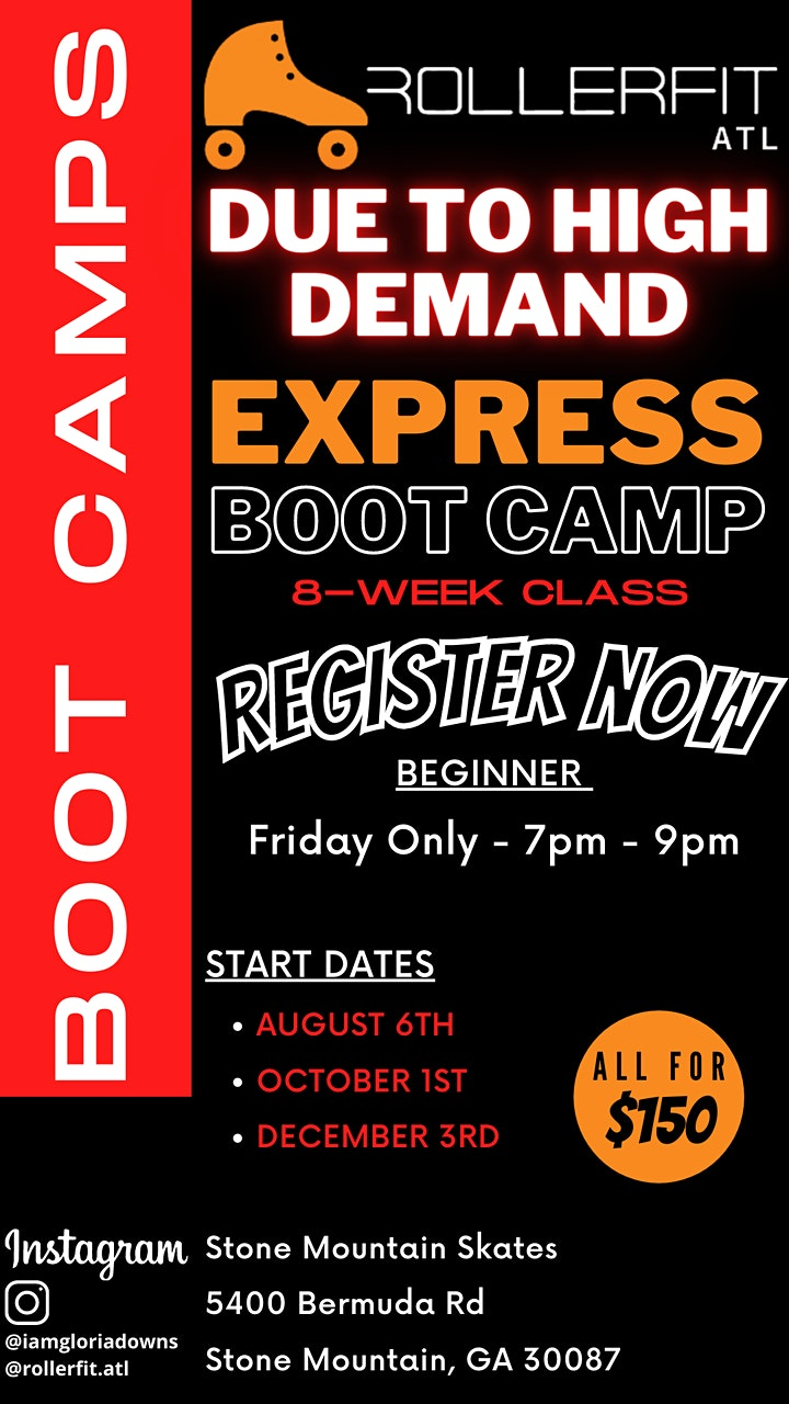 Learn to Skate EXPRESS Boot Camp Program - Beginner - October image