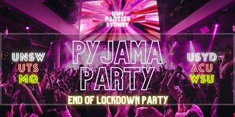 End of Lockdown Pyjama Party (DATE SUBJECT TO CHANGE) tickets