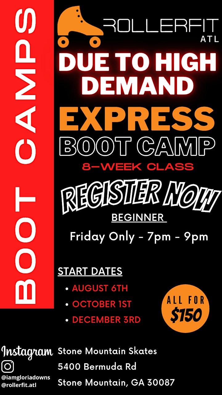 Learn to Skate EXPRESS Boot Camp Program - Beginner - August image