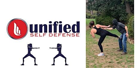 Unified Self Defense Pop-Up Class tickets