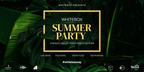 White Box Summer Party 2021 tickets