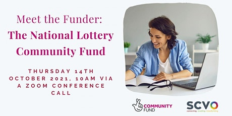 Virtual Meet The Funder:  National Lottery Community Fund tickets