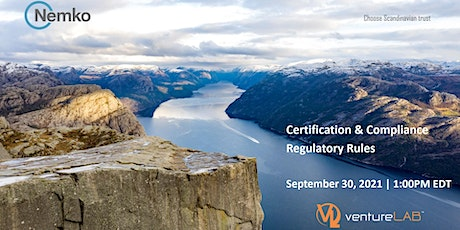 Certification &ComplianceRegulatory Rules with Nemko tickets