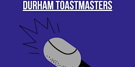 Durham Toastmasters tickets