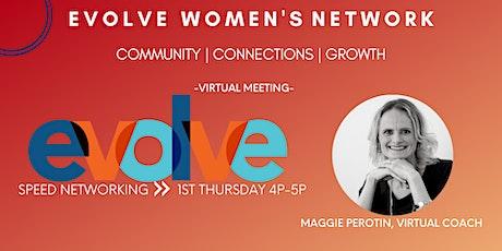 Evolve Women's Network: Speed Networking (Virtual) tickets
