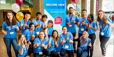 Welcome Crew Wednesdays: Undergraduate Students tickets
