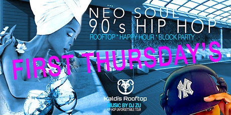 NEO SOUL 90's HIP HOP (Rooftop Happy Hour Party) tickets