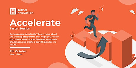Accelerate: Taster Session tickets