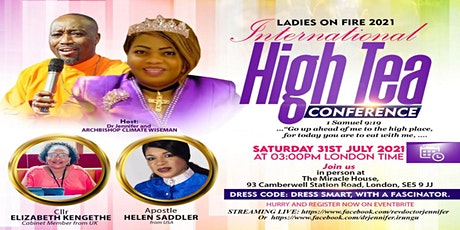LADIES ON FIRE HIGH TEA CONFERENCE tickets
