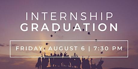 Summer 2021 Internship Graduation tickets