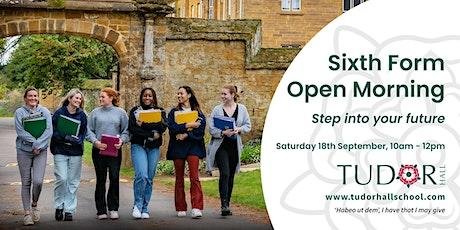 Tudor Hall School - Sixth Form Open Morning tickets