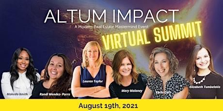 Altum Impact: Real Estate Agent Mastermind boletos
